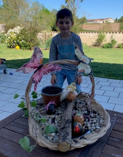 Magnifiques jardins de Pâques!