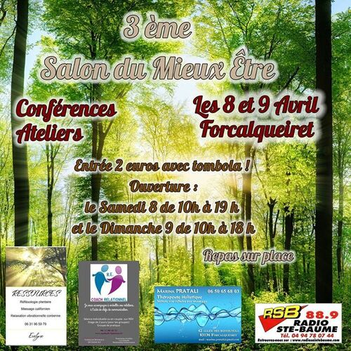 3ème SALON DU MIEUX ETRE - FORCALQUEIRET