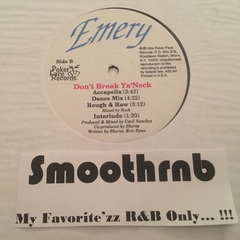 EMERY - DON'T BREAK YA' NECK (VLS 1994)