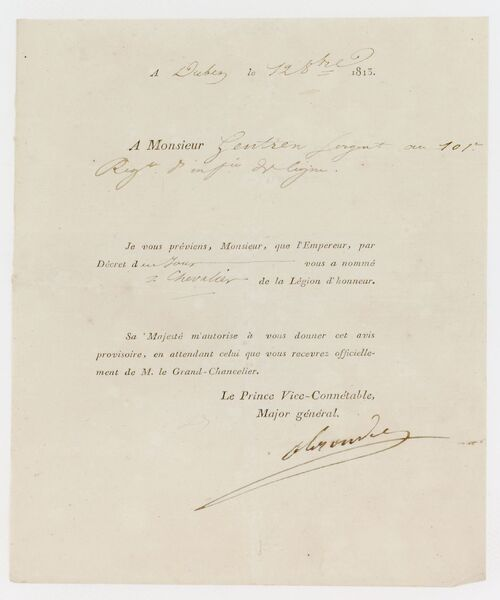 * GENTIEN  François-Nicolas