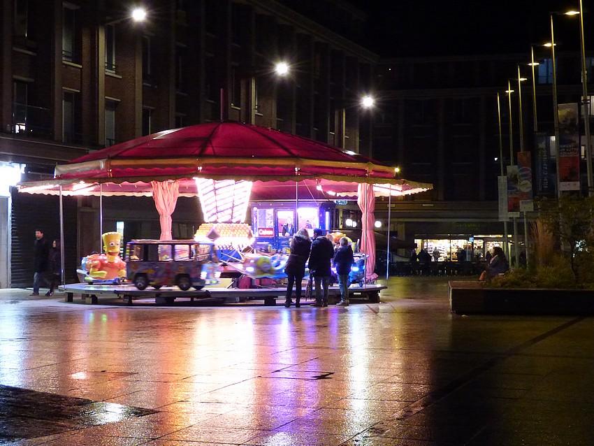 Amiens, avant d'être enguirlandée