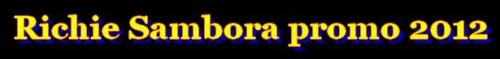Richie Sambora promo 2012