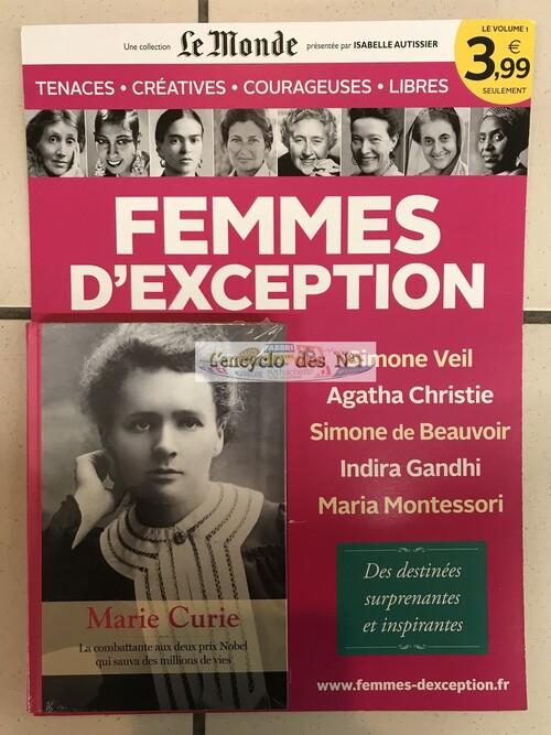 N° 1 Femmes d'exception - Lancement