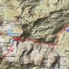 Carte ign.es.signa itinéraire Vértice de Anayet par la crête du Garmo de Izás