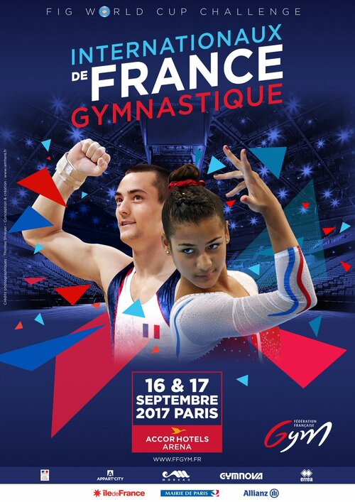 Internationaux de France 2017- FFG-FIG