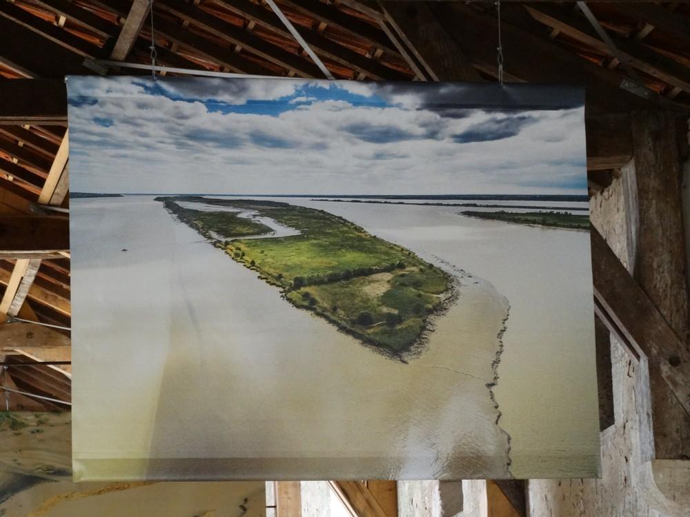 L'île Nouvelle sur l'estuaire de la Gironde...