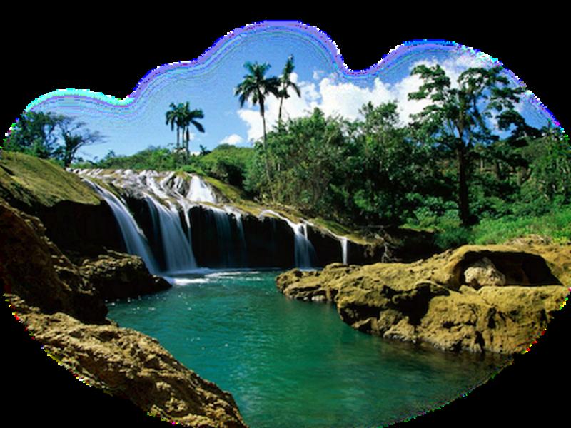 Paysage cascades  chutes d eaux  etc