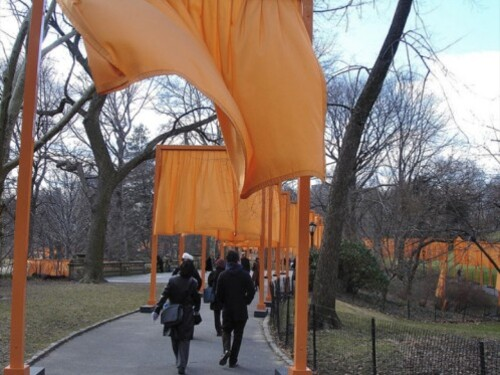 CHRISTO GATES NY by vdberg