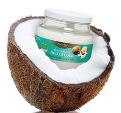 ↪L'huile de coco, vierge et bio