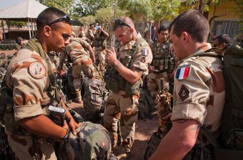 The French military intervention in Mali