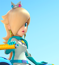 gaming mine edits nintendo Wii U rosalina this is rly big sorry mario kart 8