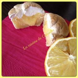 Cupcakes au citron meringuée