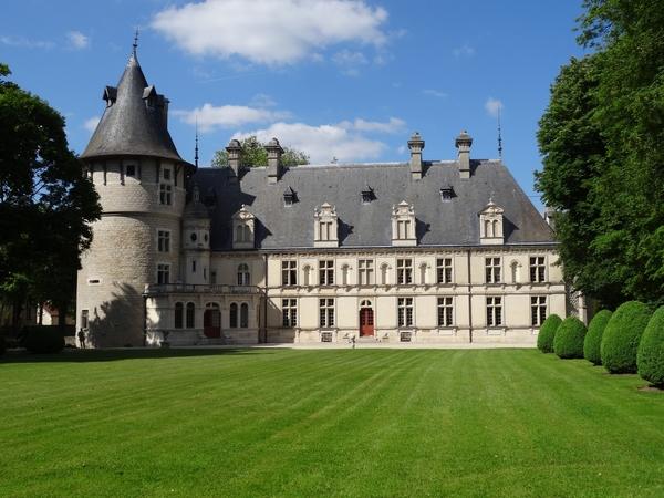 Un beau week-end gourmand au château de Montigny sur Aube