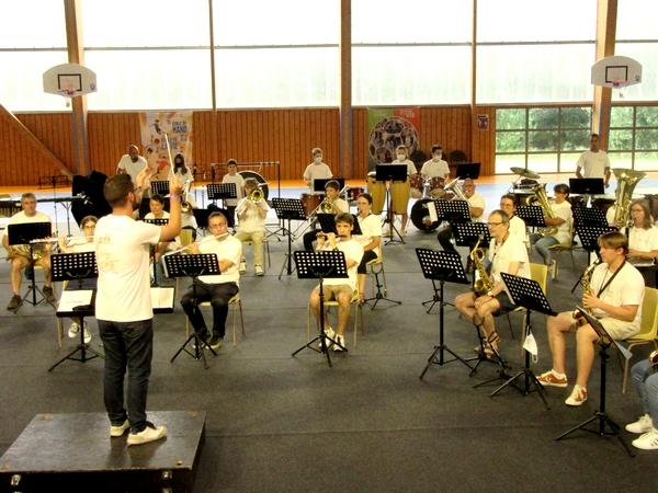 La Confédération Musicale de France (CMF) a organisé un stage musical à Châtillon sur Seine