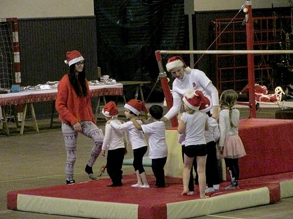 L'arbre de Noël de la Châtillonnaise-Gymnastique