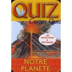 Quiz Notre planète