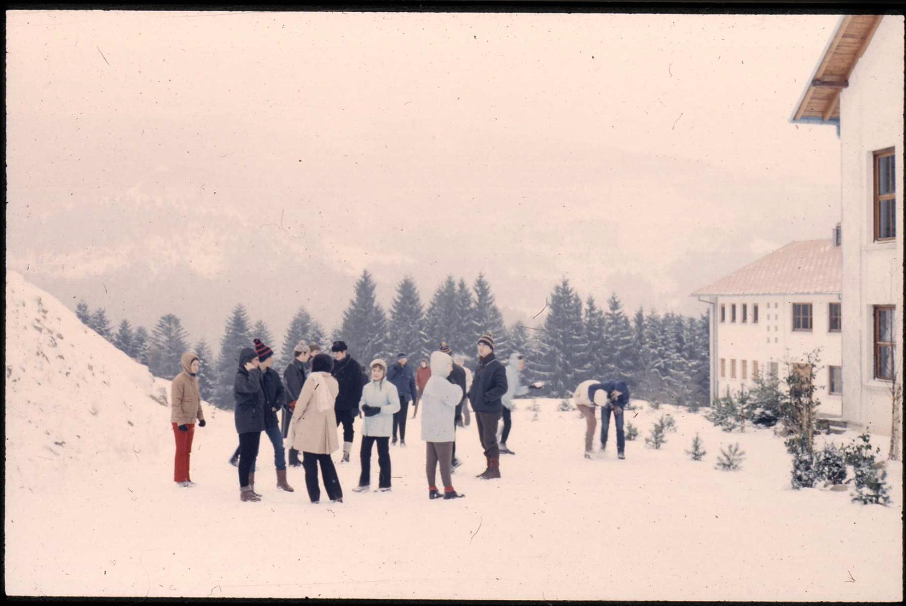 les amis au camp d'hiver - Landersen Metzeral