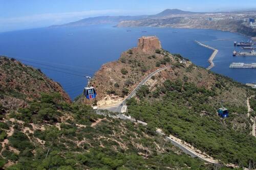 La Marine et les fortifications d'Oran