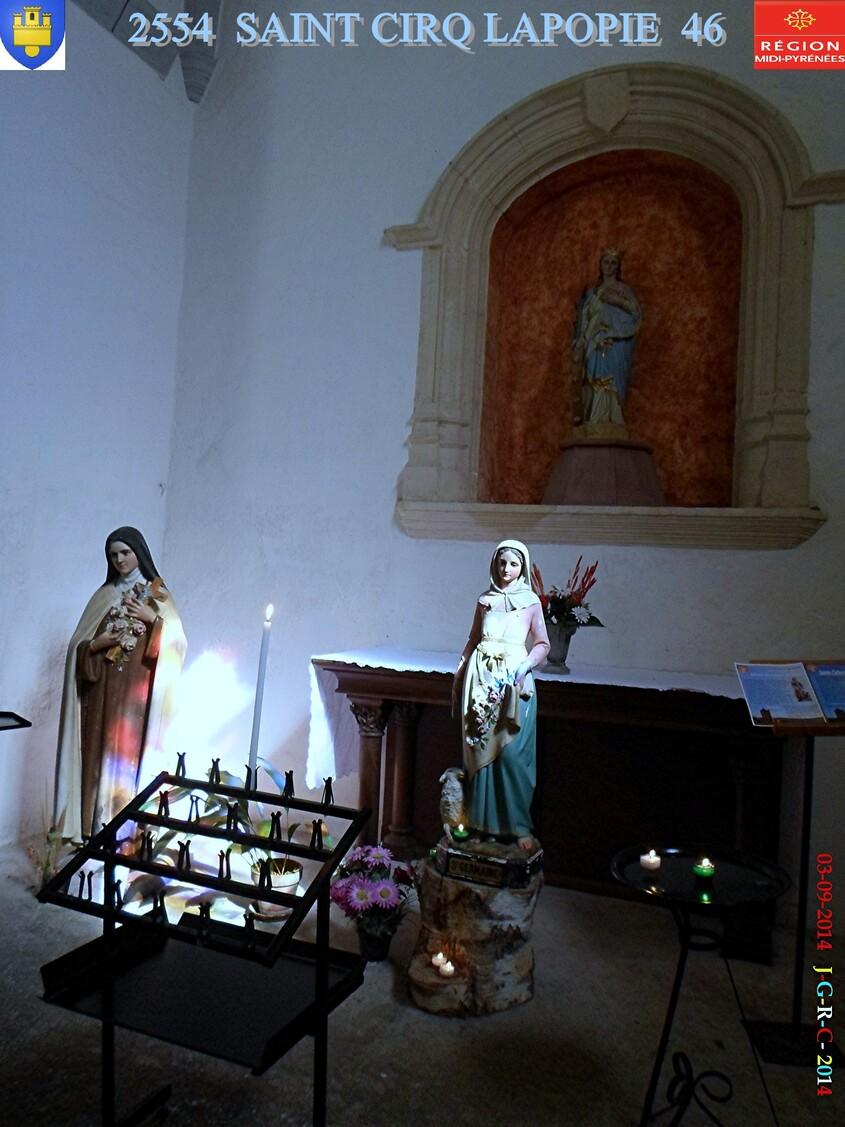 EGLISE DE Saint CIRQ LA POPIE  46 1/2  03/09/2014  D 03/04/2015
