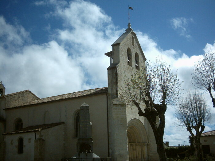 Église Saint-Laurent d'Illats