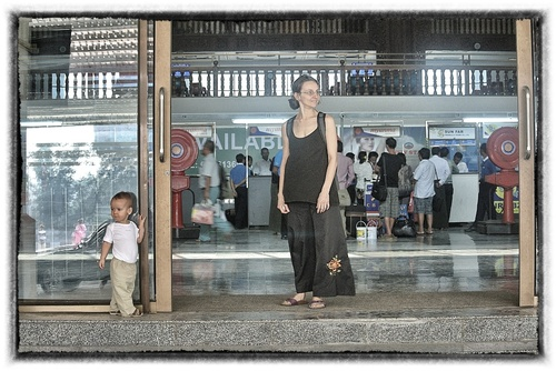 Arrivée au Myanmar