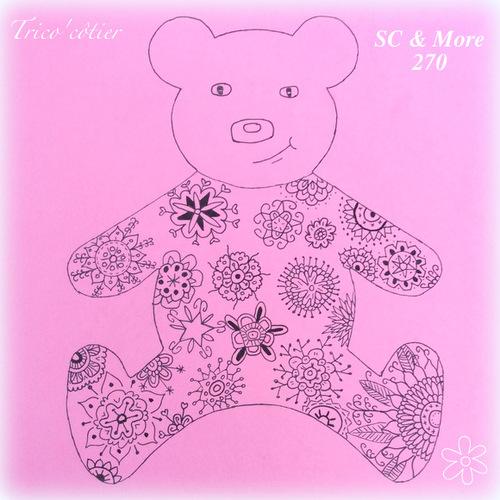 Un ours doodle pour les SC & More 270