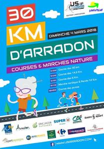 Les 30 km d'Arradon - Dimanche 4 mars 2018