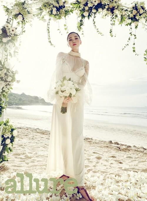 Jang Yoon Joo pour Allure