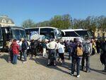 La randonnée à Versailles du 21 avril