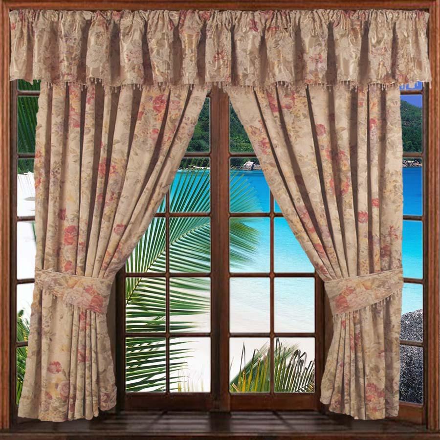 Fond avec fenêtre