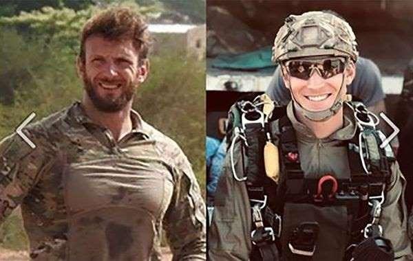 Les soldats français Cédric de Pierrepont et Alain Bertoncello, morts dans l'opération visant à libérer les otages Picque et Laurent Lassimouillas au Burkina Faso.