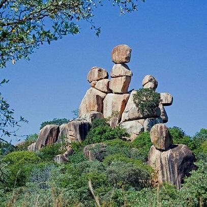 La mère et l'enfant, Zimbabwe