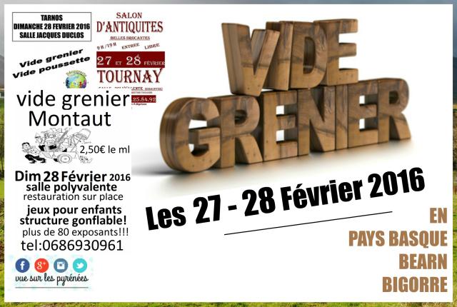 Vide Greniers : Pays Basque, Béarn et Bigorre #4