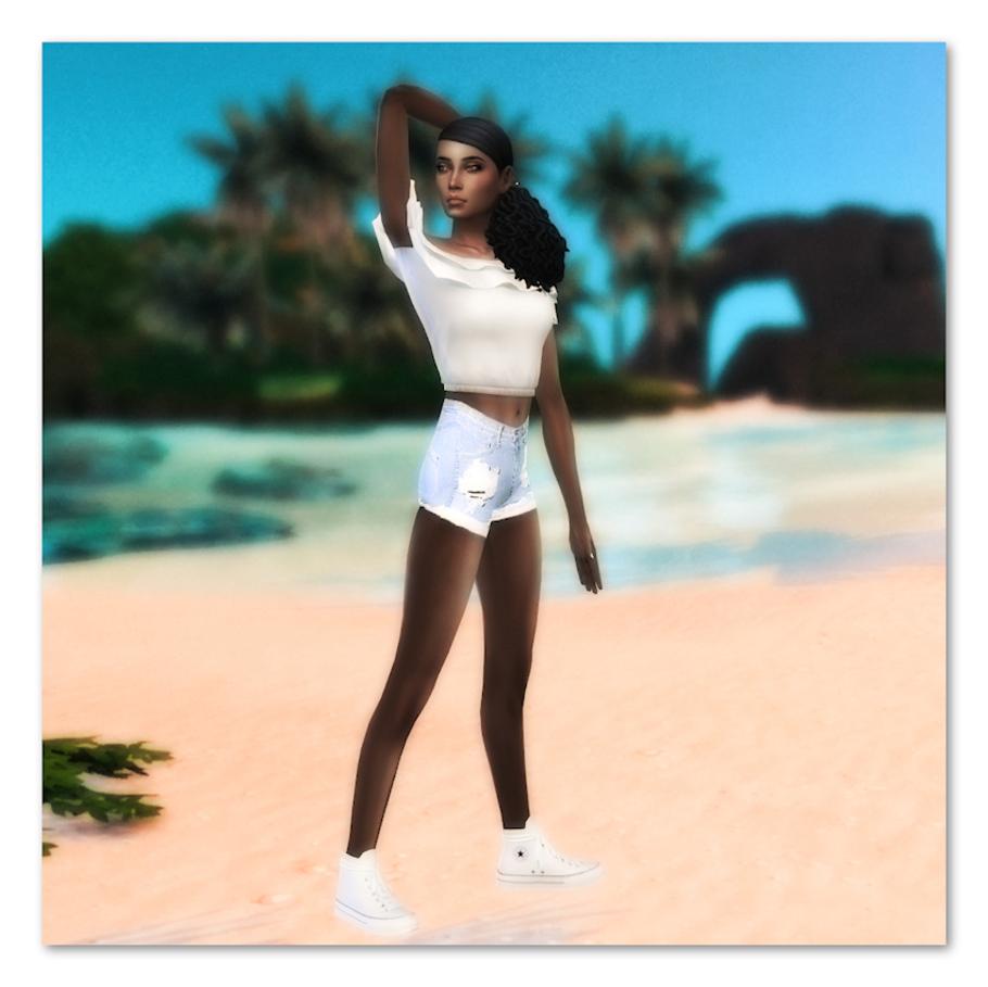 TS4 Sim: Vanille des îles