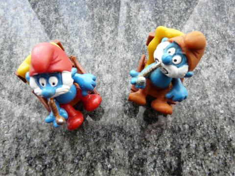 figurines schtroumpfs