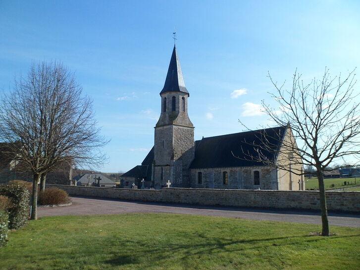 L'église Saint-Jean-Baptiste à Missy.
