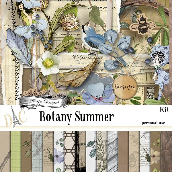 Botany Summer { Kit PU } by Florju Designs