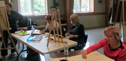 Atelier de modèle vivant