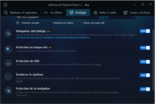 Advanced SystemCare Pro 9.3 - Licence 6 mois gratuits