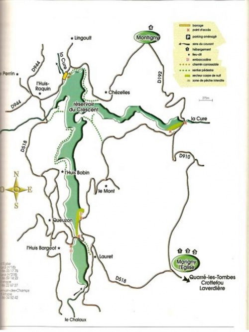 les grands lacs du Morvan