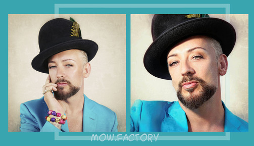 BOY GEORGE - 2013 - By Dean Stockings Part2