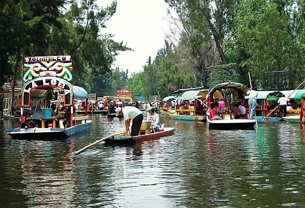Mexico Xochimilco promenade 2 (2)