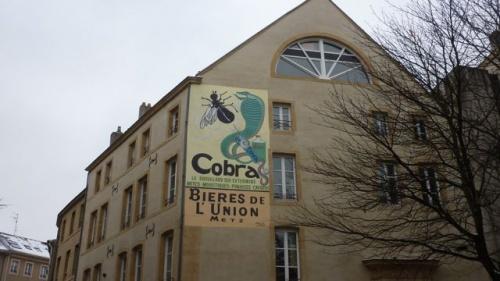 Cobra et bières de l'Union
