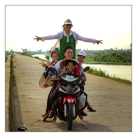 Plus de motos a Hanoi