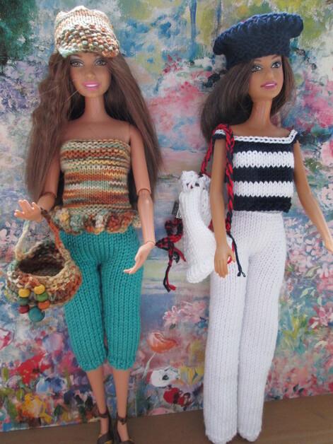 Sacs et couvre-chefs pour barbie