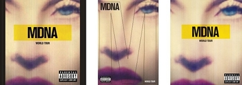 mdna tour - cd - dvd - blu-ray