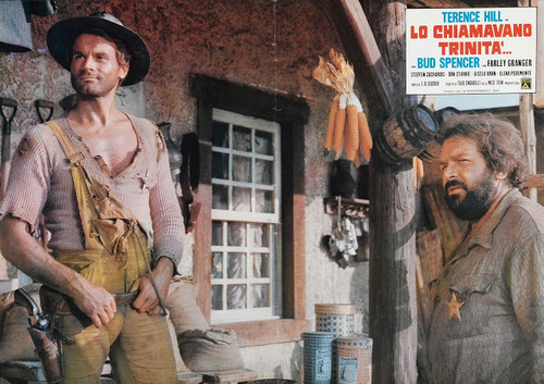 ON L'APPELLE TRINITA - TERENCE HILL BOX OFFICE 1971