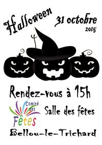 A Bellou-le-Trichard samedi 31 octobre !