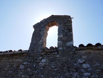Le clocher latéral de ND du Défens