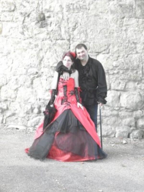 Mariage gothique août 2011